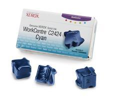 Genuine XEROX WorkCentre C2424 Solid Ink Cyan (3 sticks) - www.store.xerox.eu