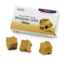 Genuine XEROX WorkCentre C2424 Solid Ink Yellow (3 sticks) - www.store.xerox.eu