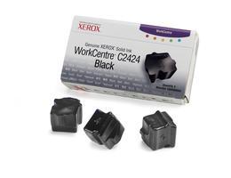 Genuine XEROX WorkCentre C2424 Solid Ink Black (3 sticks) - www.store.xerox.eu