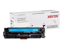 Everyday Cyan Toner, replacement for HP CF381A, from Xerox, 2700 pages - www.store.xerox.eu