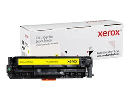 Everyday Yellow Toner, replacement for HP CF382A, from Xerox, 2700 pages - www.store.xerox.eu