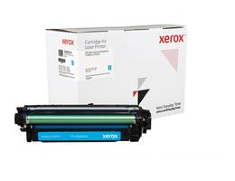 Everyday Cyan Toner, replacement for HP CE261A, from Xerox, 11000 pages - www.store.xerox.eu