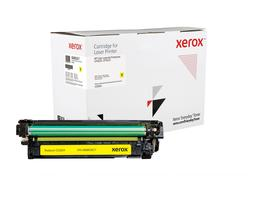 Everyday Yellow Toner, replacement for HP CE262A, from Xerox, 11000 pages - www.store.xerox.eu